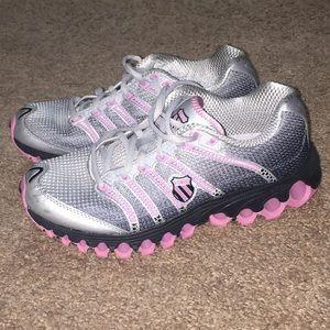 K-Swiss Sneakers Women's 8 1/2 Pink Black Gray